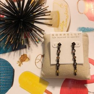 Sorrelli City Neutral Line Drop Earrings